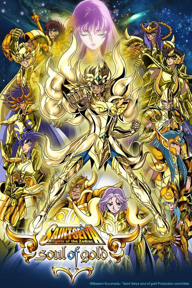Saint Seiya - Soul of Gold. Al final todos volverán a morir, porque no los dejan ser felices T-T