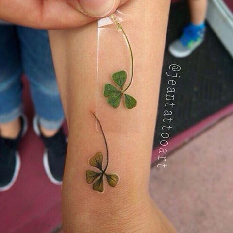 Four Leaf Clover Tattoos | Best Tattoo Ideas Gallery