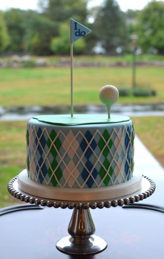 Golf Themed Grooms Cake - Cake by Elisabeth Palatiello