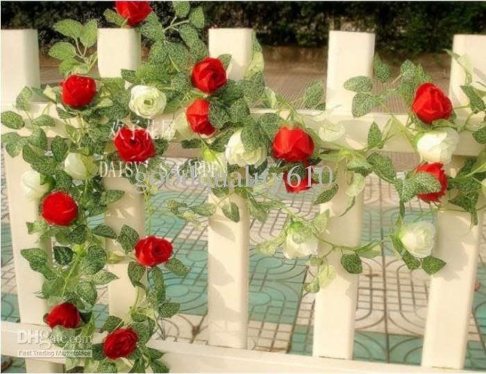 21 best silk flowers images on pinterest silk flowers floral 10pcs 68ft artificial rose garland silk flower vine ivy home wedding garden decoration mightylinksfo Choice Image