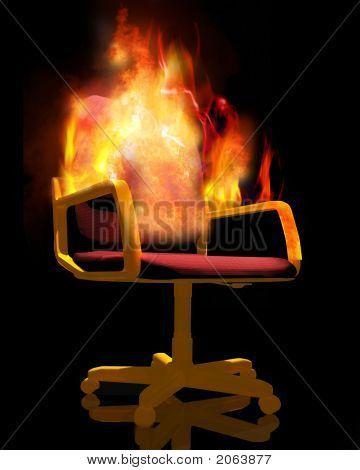 Sedia sul fuoco