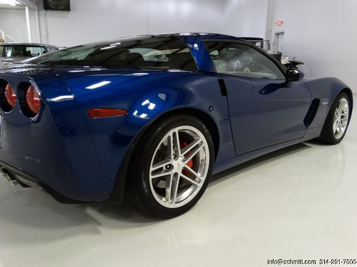 2007 CORVETTE Z06 ONLY 8,932 CAREFULLY DRIVEN MILES! ONLY 1-OWNER FROM NEW! GORGEOUS COLOR COMBINATION! COMES WITH THE COVETED Z06 PACKAGE WITH OPTIONS INCLUDING: LS7 7.0-LITER/427-CUBIC-INCH GEN IV V-8 ENGINE WITH LIGHTWEIGHT RECIPROCATING COMPONENTS 505...