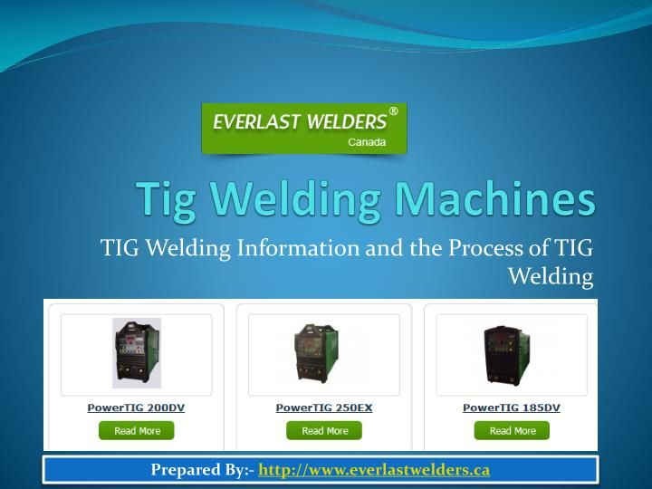 best tig welding machine