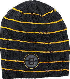 Boston Bruins 2014 Reebok Cross Check Knit Hat - Shop.Canada.NHL.com