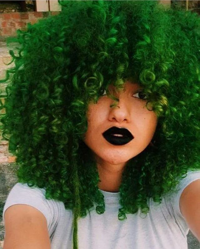 Green fro | green afro