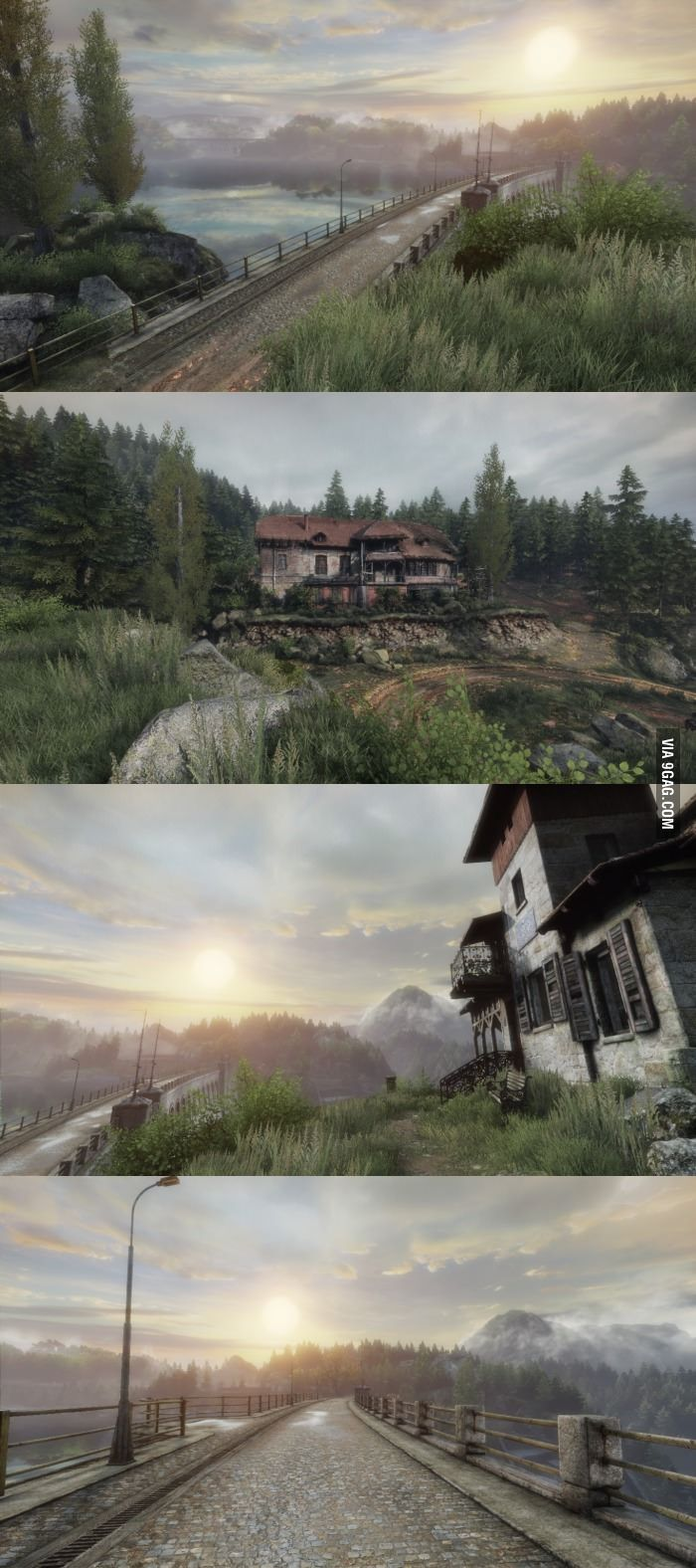 Gaming has gone to a whole new level (The Vanishing of Ethan Carter)