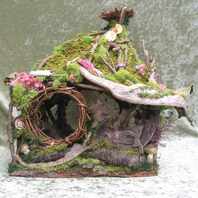 "How To Make Fairy Houses | Elementals - Create your own Fairy House!"" December's Meeting"