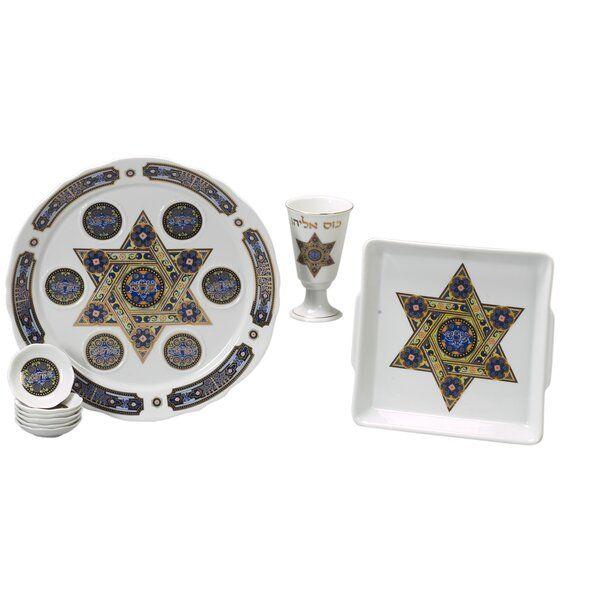 Traditional Porcelain Seder Set Giftware Design Porcelain Seder