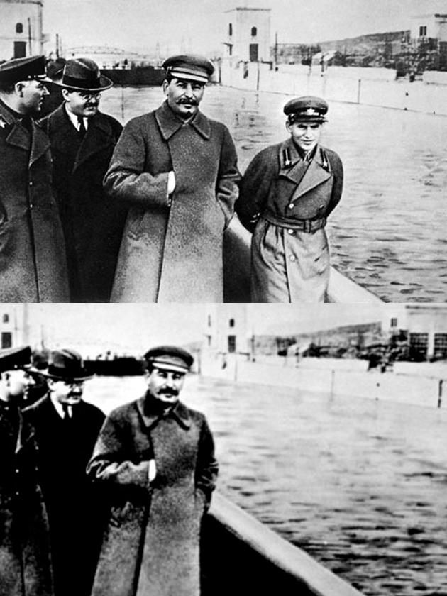Long Before Photoshop, the Soviets Mastered the Art of Erasing People from Photographs — and History Too | Open Culture