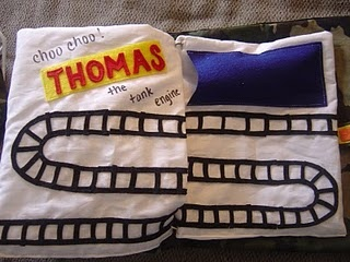 Thomas the train page :-) This site also has a cute Toy Story page