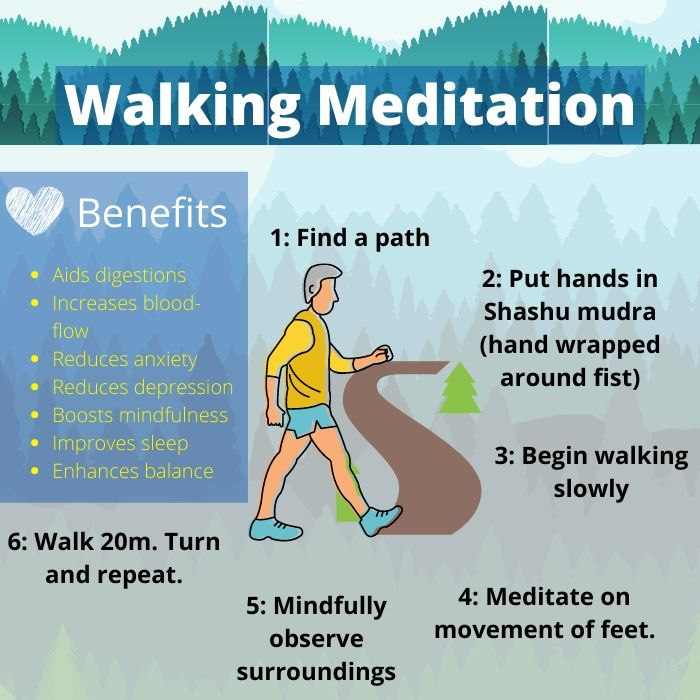 50+ How to meditate while walking ideas