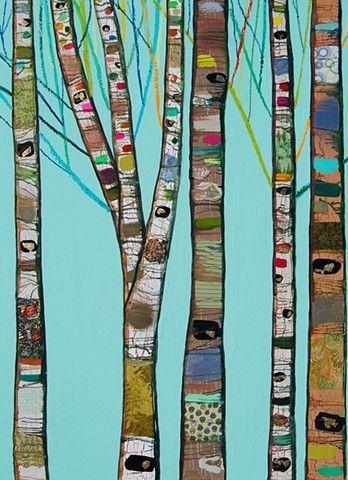 .tree painting