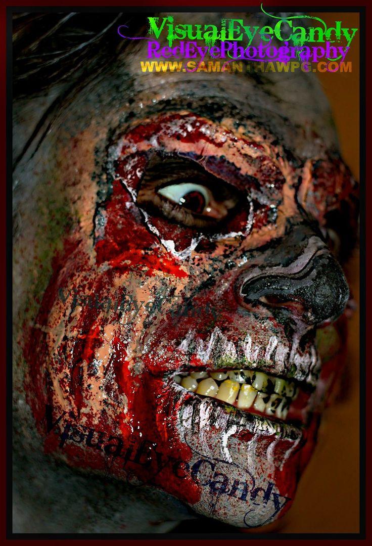 Samantha Wpg @2014 Zombie Apocalypse 05.31.2014 SPFX Zombie Make Up For ...
