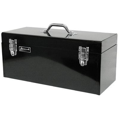"Homak 20"" High Tool Box Color: Black"