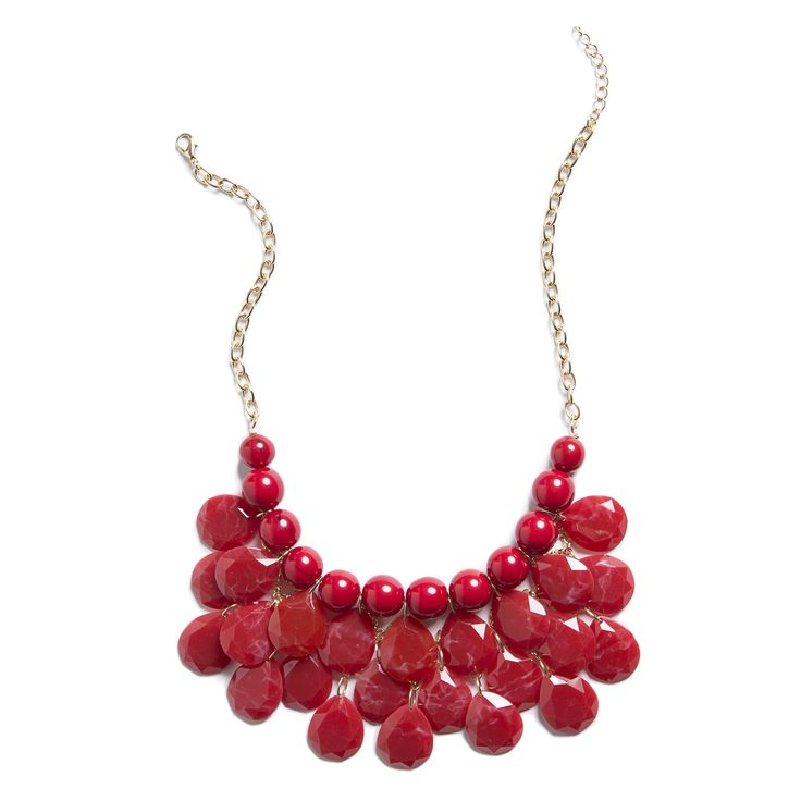 Christy Layered Bauble Necklace