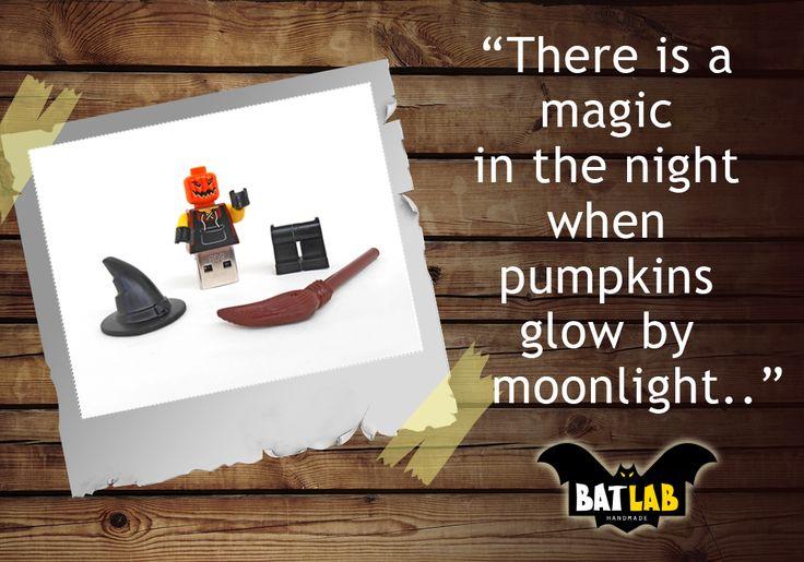 There is a magic in the night...Getting ready? #haloween #diy #haloweendiy