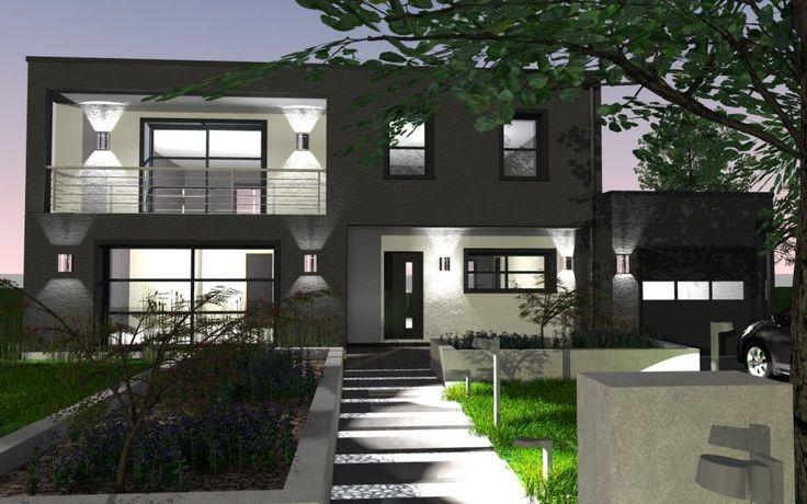 Les 16 meilleures images propos de maisons toit terrasse for Logiciel pour dessiner sa maison
