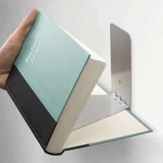 Conceal, book shelf by UmbraBook Shelf, Invisible Bookshelf, Book Storage, Book Shelves, Floating Bookshelves, Hidden Bookshelf, Floating Bookshelf, Concealer Bookshelf, Umbra Concealer