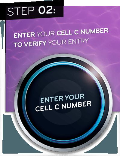 Enter your Cell C number to verify your entry