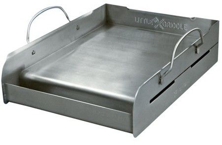 Little Griddle Medium Professional Series - Stainless Steel Barbecue Griddle