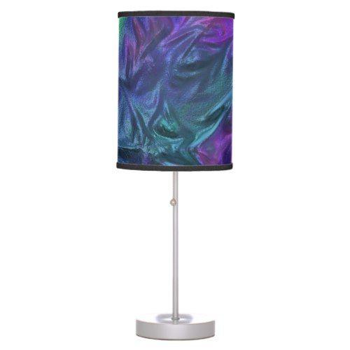 Metallic Design Purple Desk Lamp