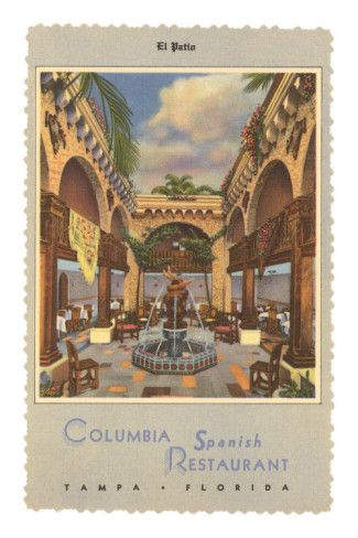 Columbia Spanish Restaurant, Tampa, Florida