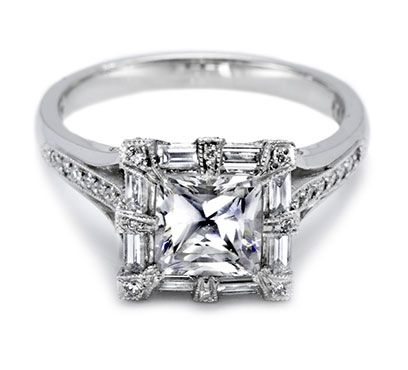 Tacori Engagement Rings, Diamond Engagement Rings: Wedding Ring, Tacori, Style, Wedding Ideas, Diamonds, Engagementrings, Jewelry, Engagement Rings, Princess Cut