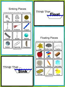 » Things That Float and Things That Don't – Sink or Float Science Center Nuttin' But Preschool