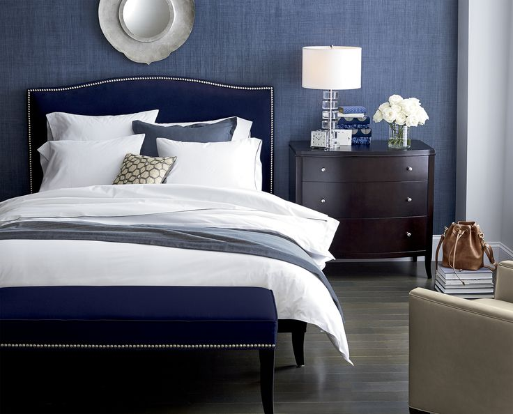 Bedrooms On Pinterest Blue Duvet Covers Bed Linens And Crate And