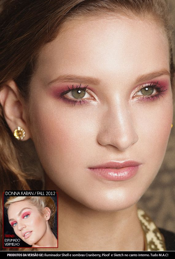 Cranberry Eyes for romantic look