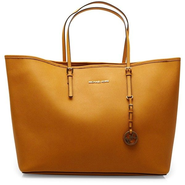 Michael Kors Large leather tote found on Polyvore