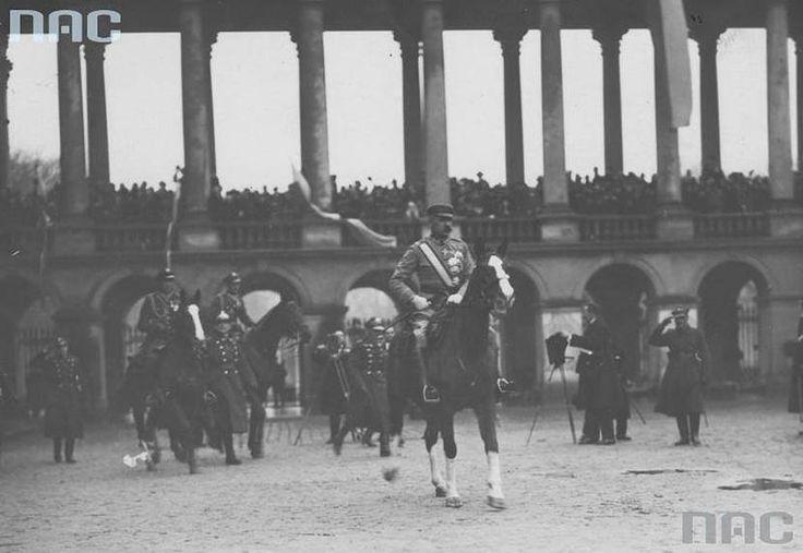 Plac Saski. Warszawa , 11 listopada 1926 r.