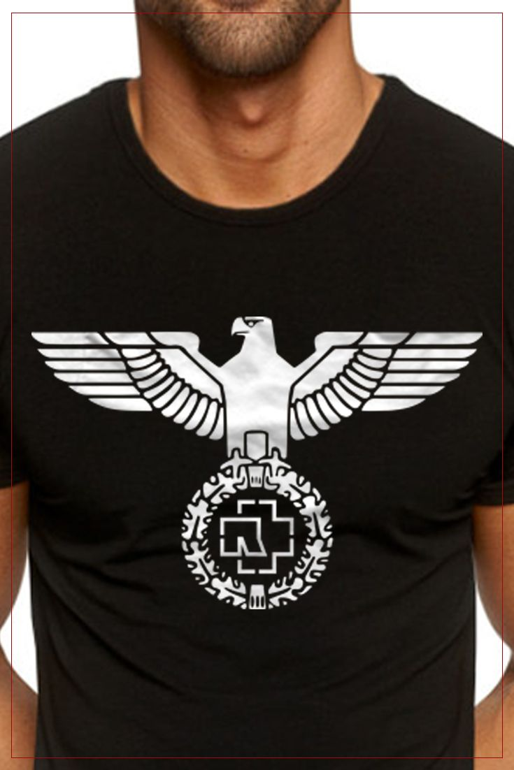 High Quality Rammstein T Shirts Fast Delivery Ship Worldwide Rammstein Tour 2018 Collection Rammstein T Shirts 2018 Ra T Shirt Mens Tops Mens Tshirts