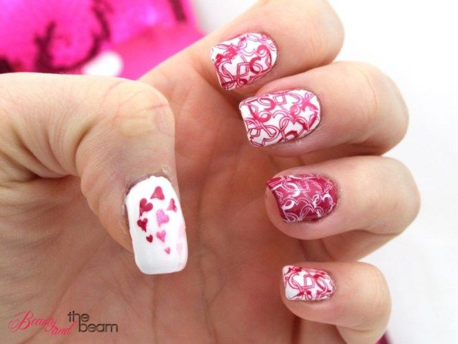 Nageldesign Valentinstag | Beauty and the beam