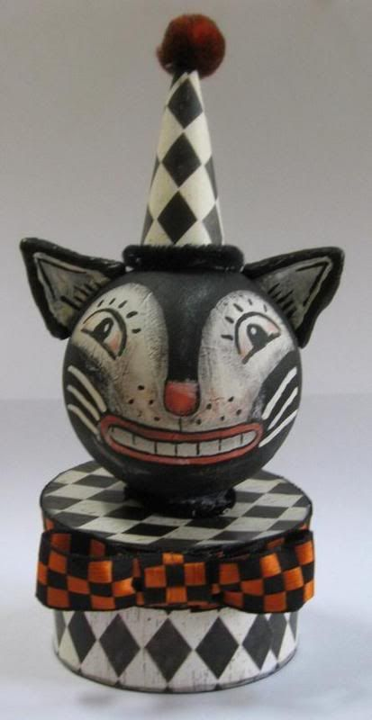 dyi   Vintage-look cat decoration - OCCASIONS AND HOLIDAYS