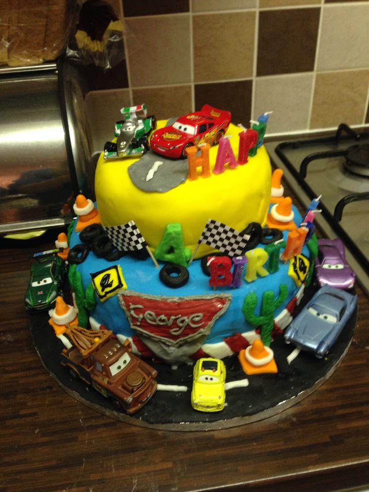 Disney Cars Cake Birthday Cakes Pinterest Disney