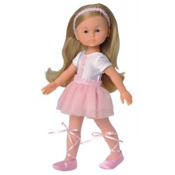 Corolle - Doll 33cm Les Cheries Camille Ballerina Every little ballerina needs a dance partner and Camille looks just right #Entropywishlist #pintowin