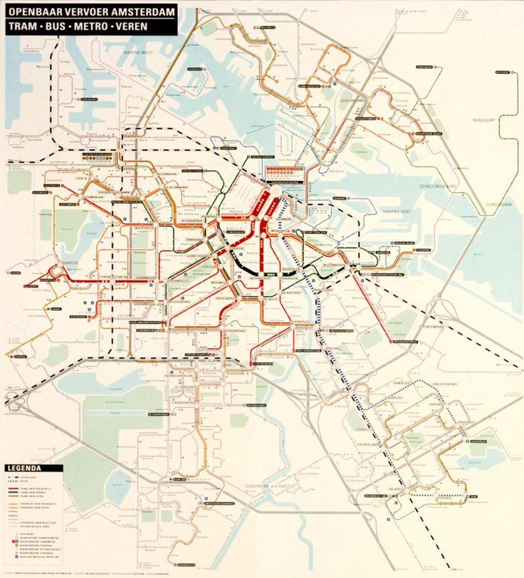 Dutch Transit Map (1988)
