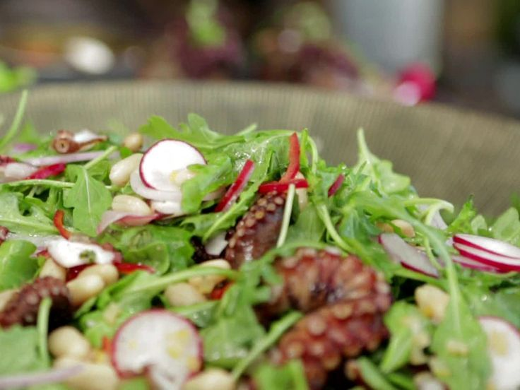 Charred Octopus Salad Recipes — Dishmaps