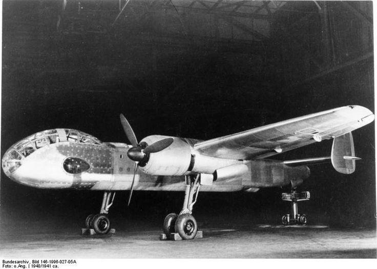 Bundesarchiv Bild 146-1996-027-05A, Flugzeug Junkers Ju 288 V1