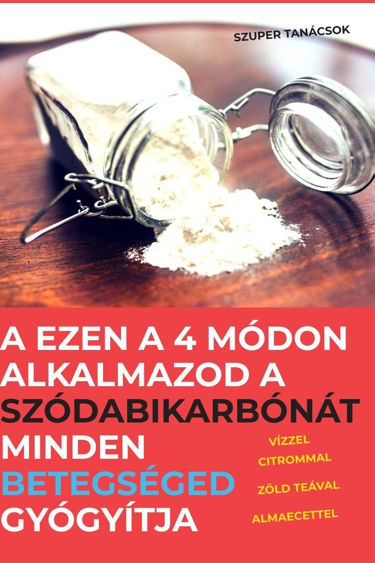 gyors recept a fogyáshoz szódabikarbónával és