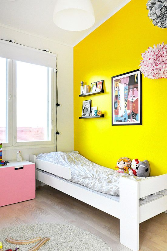 1000+ Ideas About Yellow Accent Walls On Pinterest