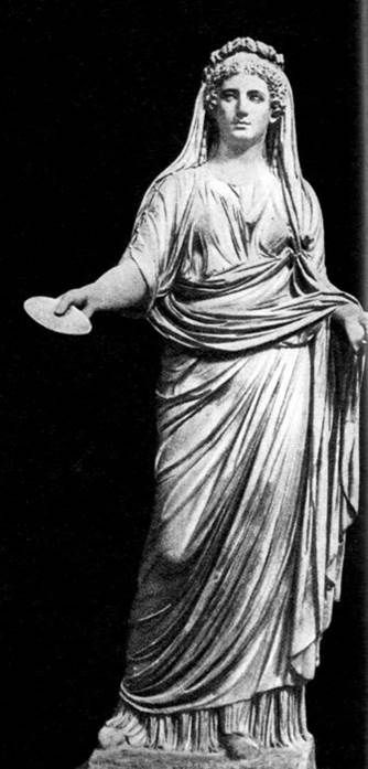 Ливия, скульптура из Помпеи