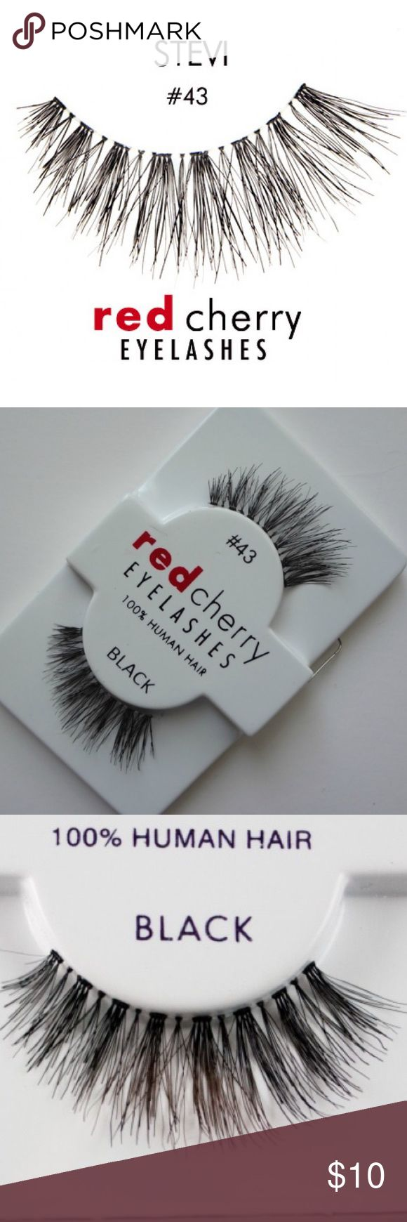 59ef33acdcb NWT Red Cherry #43 False Lashes Brand new. 100% authentic. Never used