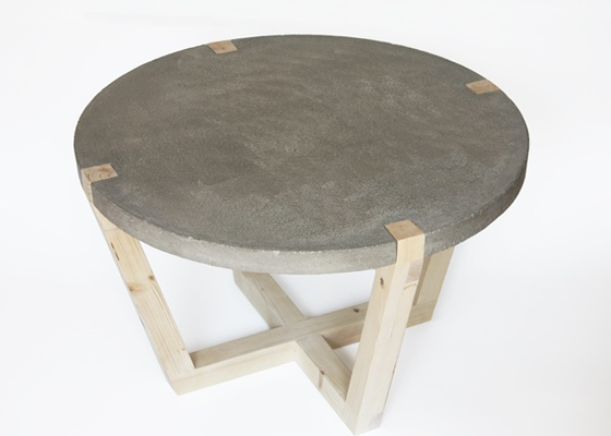 Handmade coffee table by Kuiken Design