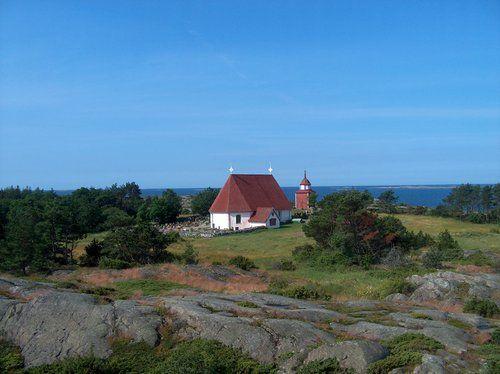 Kökar kyrka/kirkko/church
