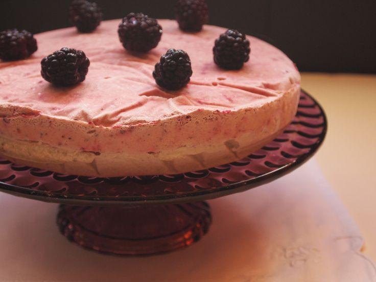 Tarta helada de frambuesa II - glutenfree