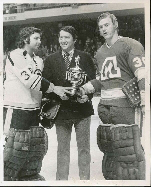"Harry ""Hap"" Holmes Memorial Award (AHL - fewest goals against) (1972) (Dan Bouchard shared with Ross Brooks)"