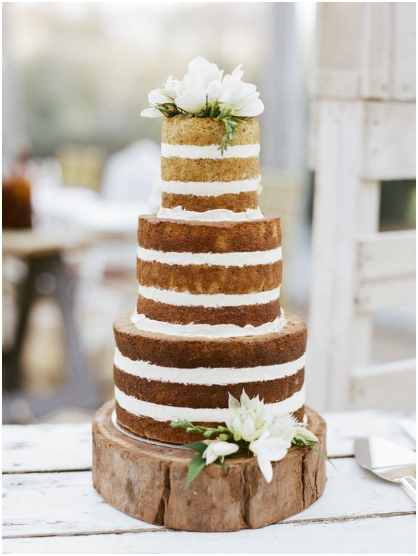 Another naked cake :)