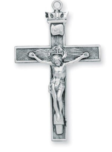 20 best silver crucifix pendant images on pinterest jewelry crucifix pendant sterling silver with chain hmh religious 5599 includes 24 inch stainless aloadofball Image collections